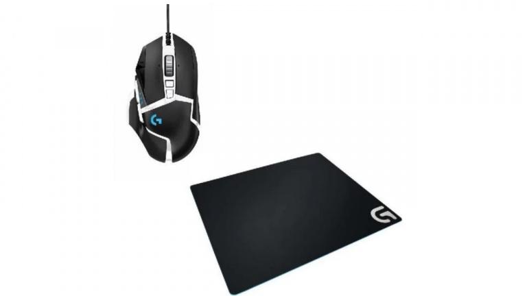 Souris Logitech G502 SE Hero + tapis de souris à 34,99€