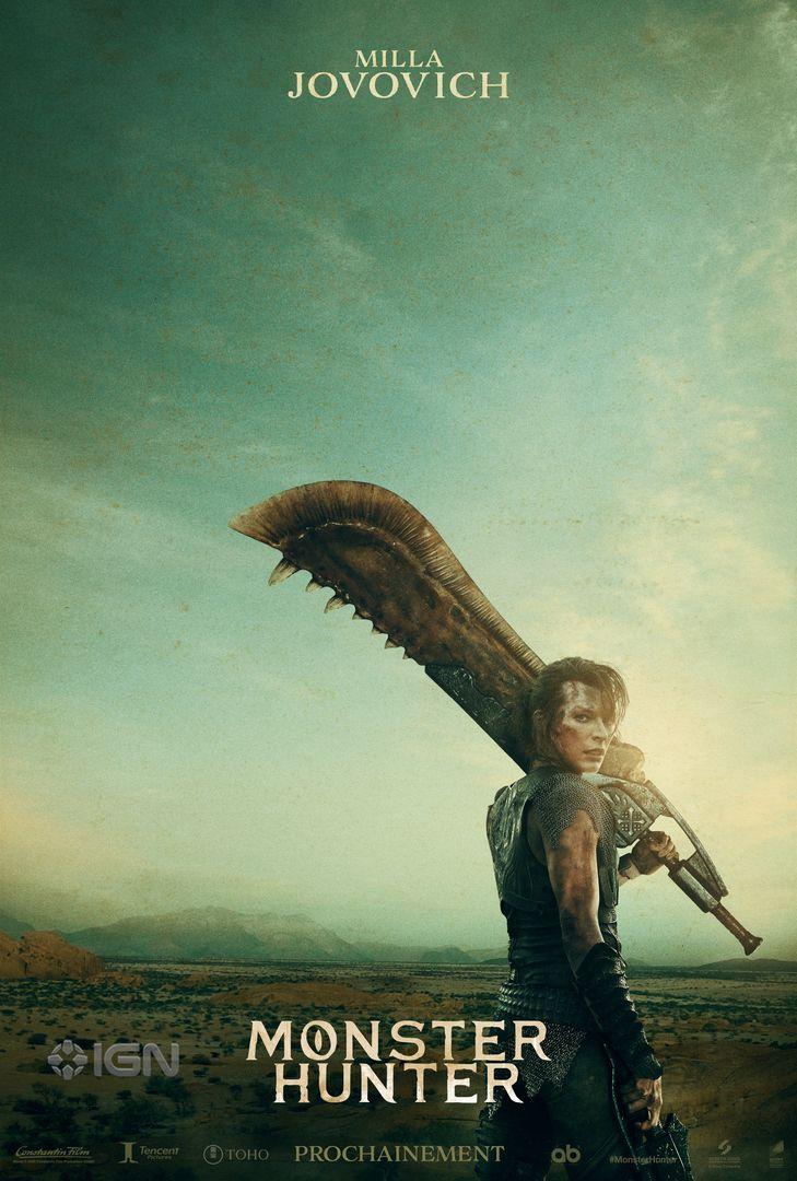 Monster Hunter : IGN partage deux nouvelles affiches du film en exclusivité