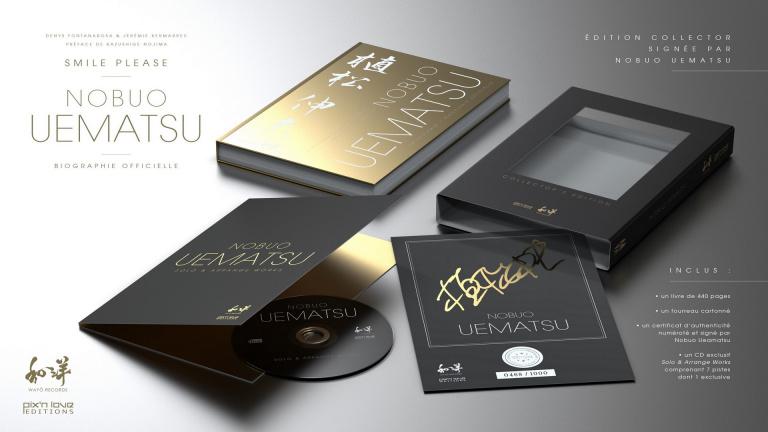 Nobuo Uematsu : Pix'n Love annonce une biographie avec une édition collector