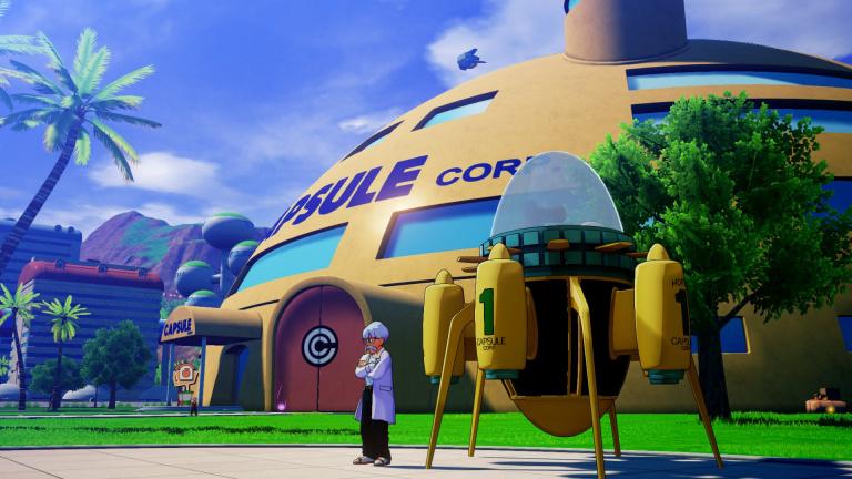 Dragon Ball Z Kakarot : la machine à voyager dans le temps accessible en mars