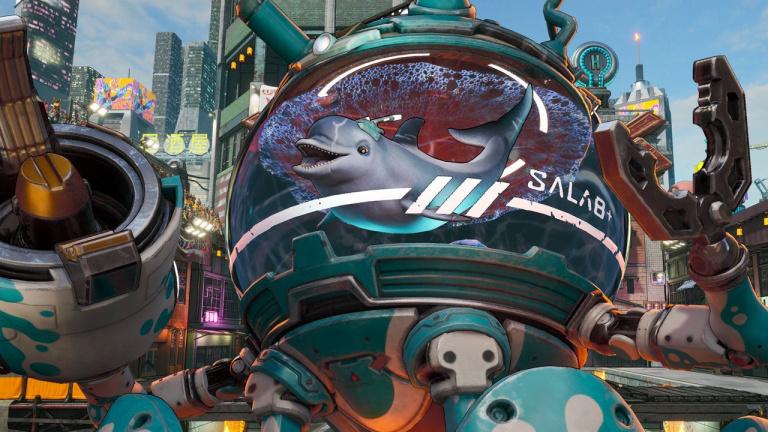 Bleeding Edge : Mekko le dauphin cyborg, nouveau héros du jeu multi