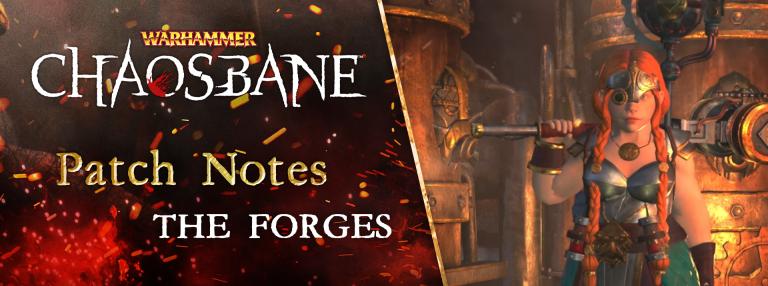 Warhammer Chaosbane : les Forges de Nuln et un nouveau personnage jouable débarquent