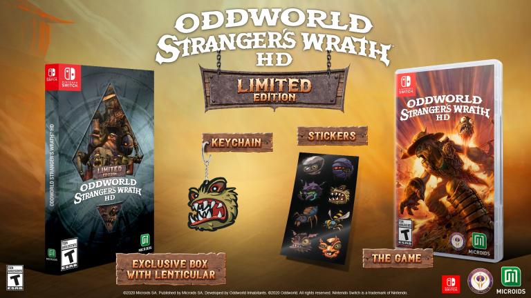 Oddworld : La Fureur de l'Etranger - Des éditions physiques pour la Switch se dévoilent