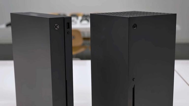 Xbox Series X : à l'extérieur, quelles différences avec la One X ?