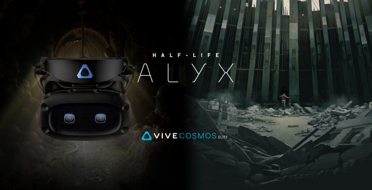 Le jeu Half-Life : Alyx offert pour tout achat d'un casque Vive Cosmos Elite