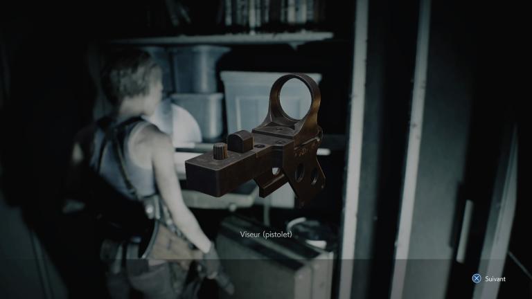 Viseur pour pistolet, l'énigme du coffre du pharmacien