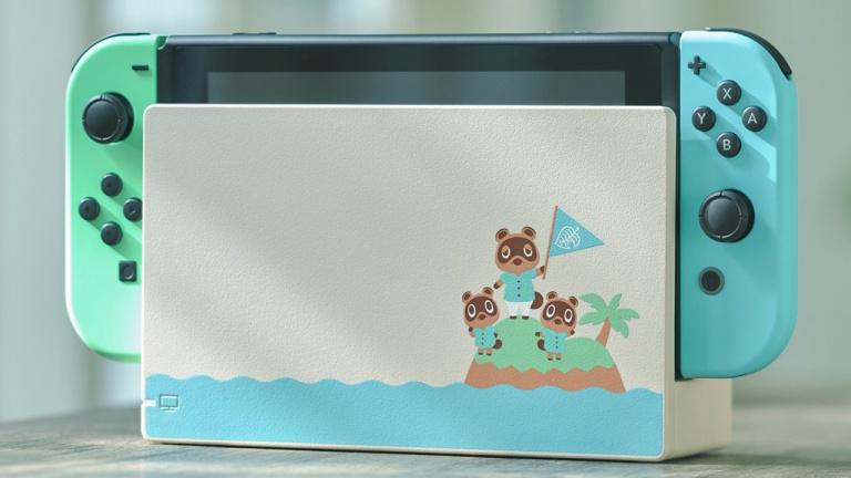 Switch : L'édition spéciale Animal Crossing de retour au Japon