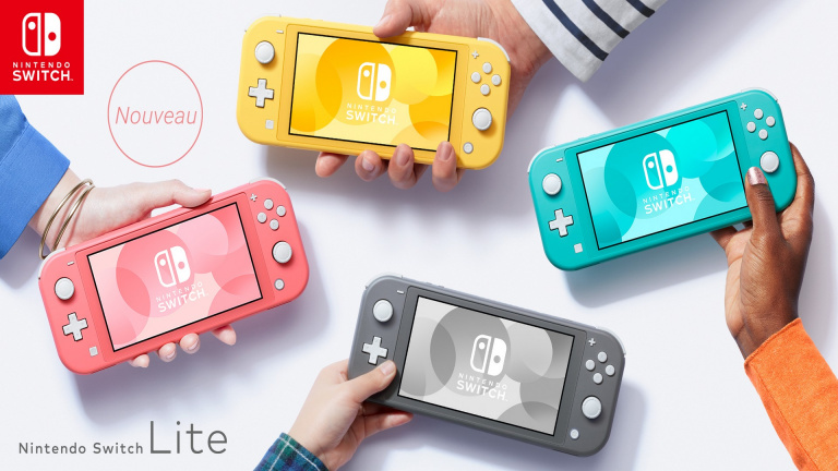 Nintendo Switch Lite : Pack Console + Animal Crossing à 224,99€