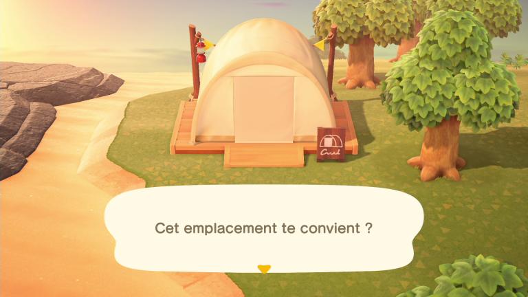 Animal Crossing New Horizons : tout savoir sur le site de camping et son intérêt, notre guide