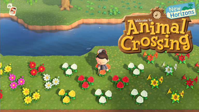 Maj Animal Crossing New Horizons Hybrid Flowers Flower