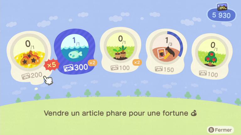 [MàJ] Animal Crossing New Horizons, Miles Nook : comment fonctionne le programme et en obtenir rapidement en début de partie ?