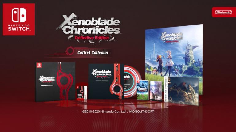 [MàJ] Xenoblade Chronicles Definitive Edition prend date et dévoile sa collector