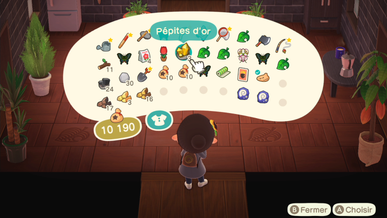 Animal Crossing New Horizons, outils en or : comment les obtenir ? Nos astuces