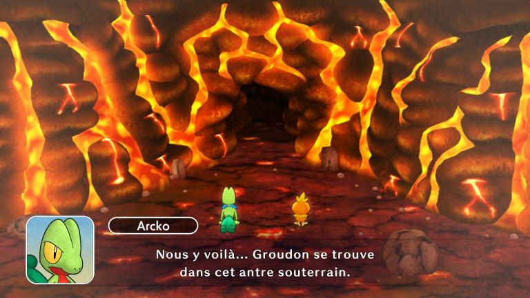 Mission 12 : Combat contre Groudon dans la Mine Magma