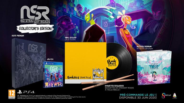 No Straight Roads date sa sortie et présente son édition collector pour la PlayStation 4