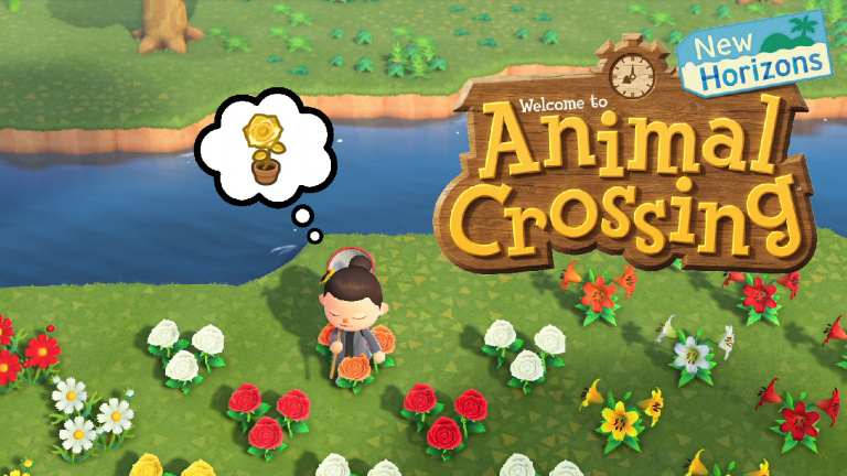 Animal Crossing New Horizons, roses d'or : comment les faire pousser ? Notre guide