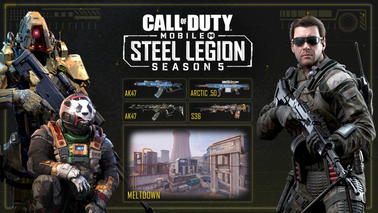 Call of Duty : Mobile - La Saison 5 a débuté