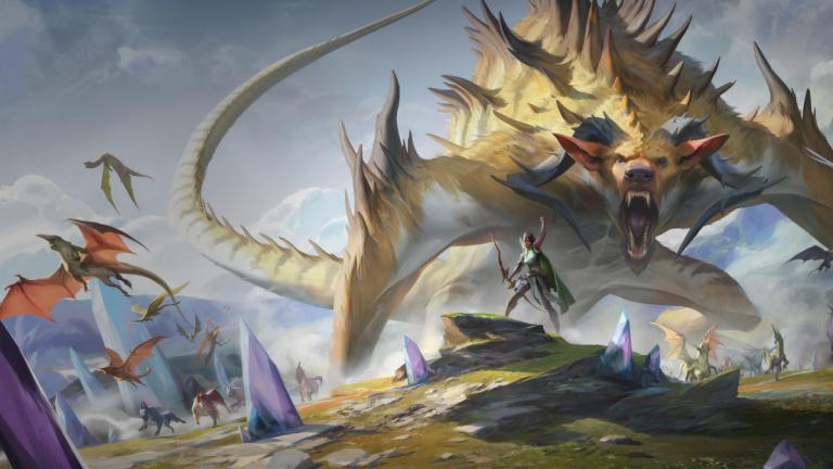 [Exclu] Magic Arena : présentation d'une nouvelle carte de l'extension Ikoria, la terre des béhémoths