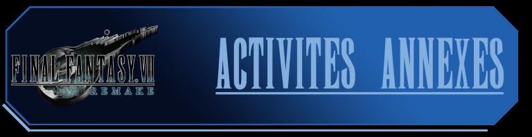 Activités annexes