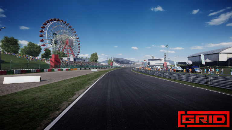 GRID : le circuit de Suzuka arrive avec la saison 3