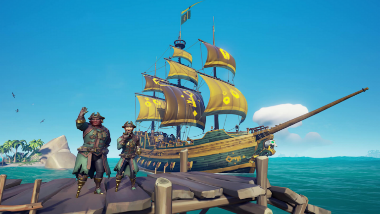 Sea of Thieves lance son week-end double XP