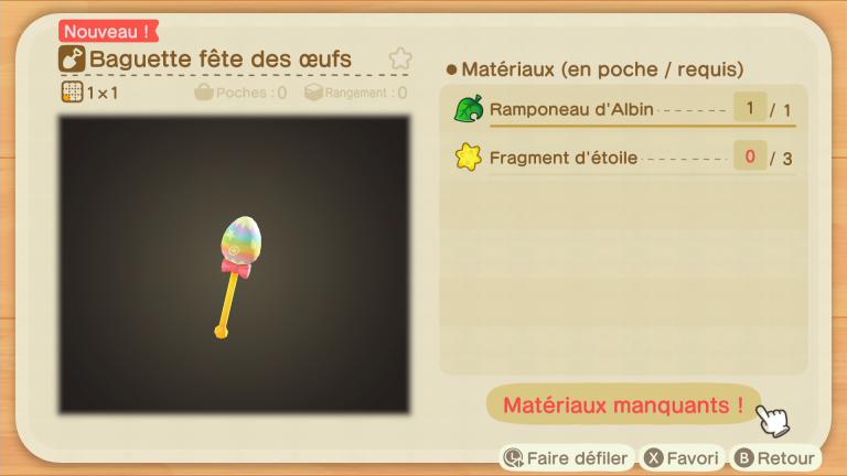 Animal Crossing New Horizons, fête des œufs : notre guide de l'événement de Pâques