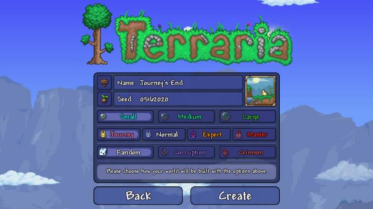 Terraria : la mise à jour Journey's End prend date sur PC