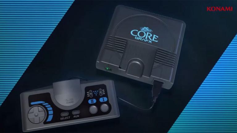 PC Engine Core Grafx mini : la console rétro légendaire par excellence