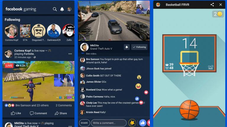 Facebook Gaming, une nouvelle application aux airs de Twitch et YouTube