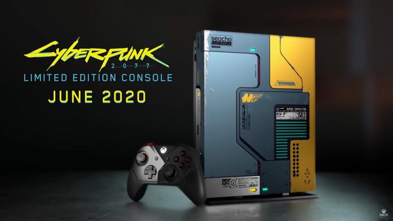 La Xbox One X Cyberpunk 2077 sera la dernière édition exclusive de la console