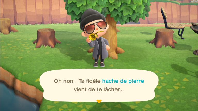[MàJ] Animal Crossing New Horizons, outils en or : comment les obtenir ? Nos astuces