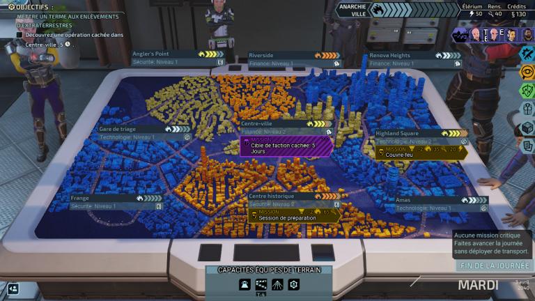 Réduire le chaos urbain de la cité 31