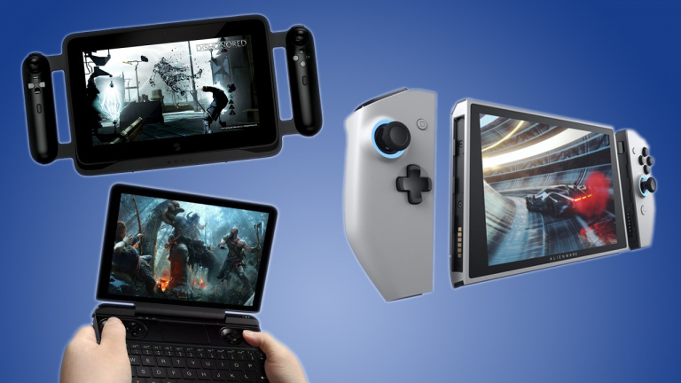 """""""PC Switch"""" : Un idéal compliqué tenté par Alienware, Razer ou GPD"""