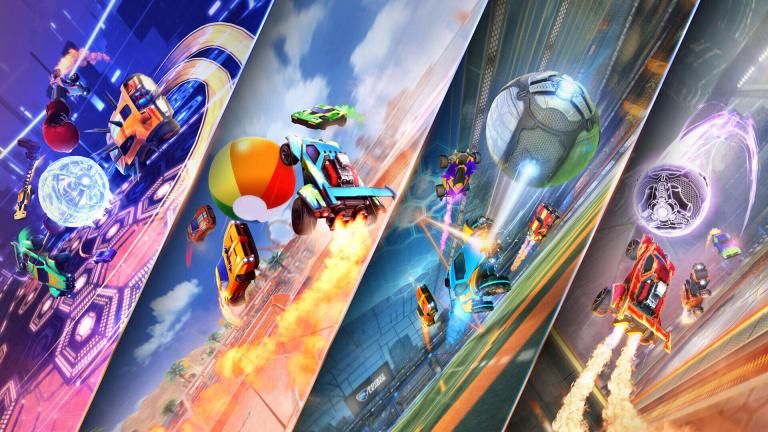 Rocket League : quatre modes temporaires seront proposés en mai