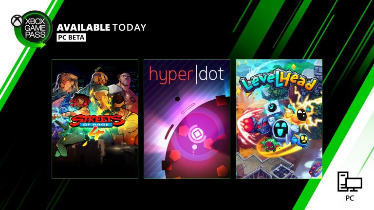Xbox Game Pass sur PC : Streets of Rage 4, Hyper Dot et LevelHead rejoignent l'offre