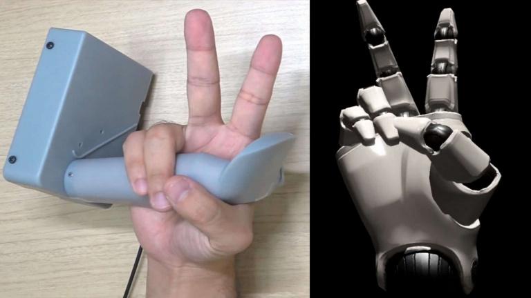 PS VR : le prototype d'une manette qui détecte la position des doigts dévoilé