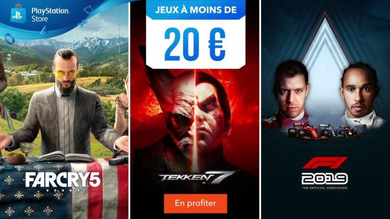 PS Store : vivez de nouvelles aventures pour moins de 20€ !
