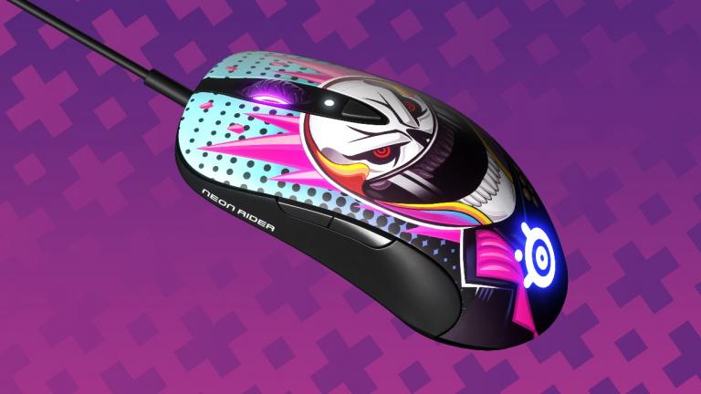 Des périphériques aux couleurs de CS : GO Neon Rider chez SteelSeries
