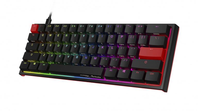 HyperX et DuckChannel s'associent autour d'un clavier gaming très compact