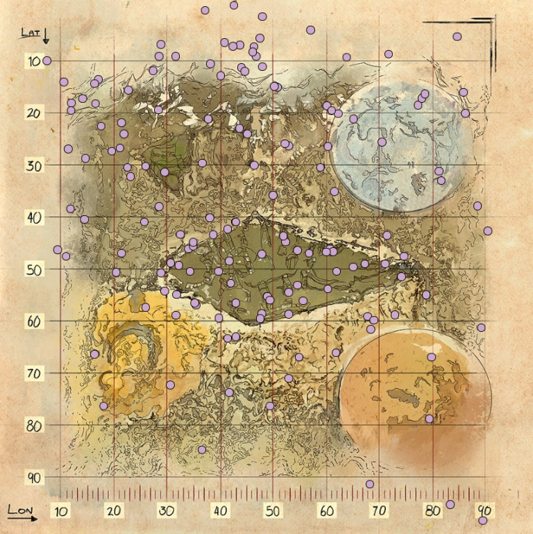 Les notes de l'explorateur