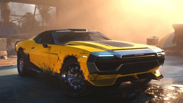 Cyberpunk 2077: Un véhicule en hommage à Mad Max Fury Road