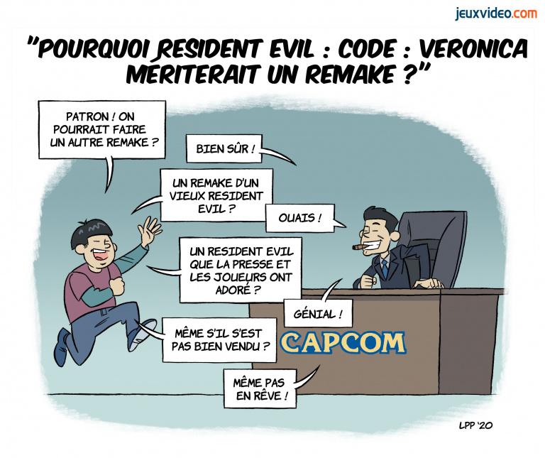 Billet : Pourquoi Resident Evil : Code : Veronica mériterait un remake