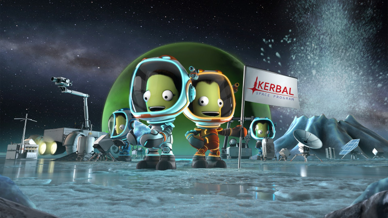 Kerbal Space Program annonce un partenariat avec l'Agence Spatiale Européenne