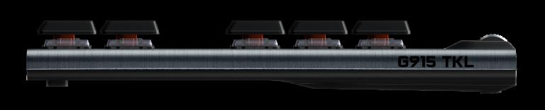 Logitech G : le clavier G915 s'affranchit de son pavé numérique dans sa nouvelle version