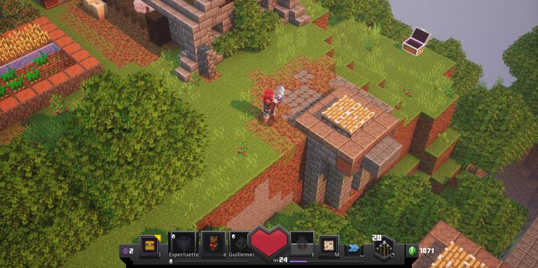 Minecraft Dungeons : coffre secret et runes cachées, notre guide