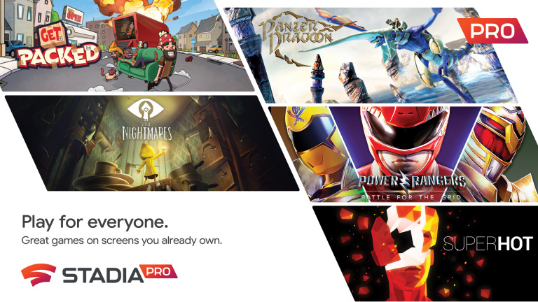 Google annonce ses jeux Stadia Pro pour le mois de juin