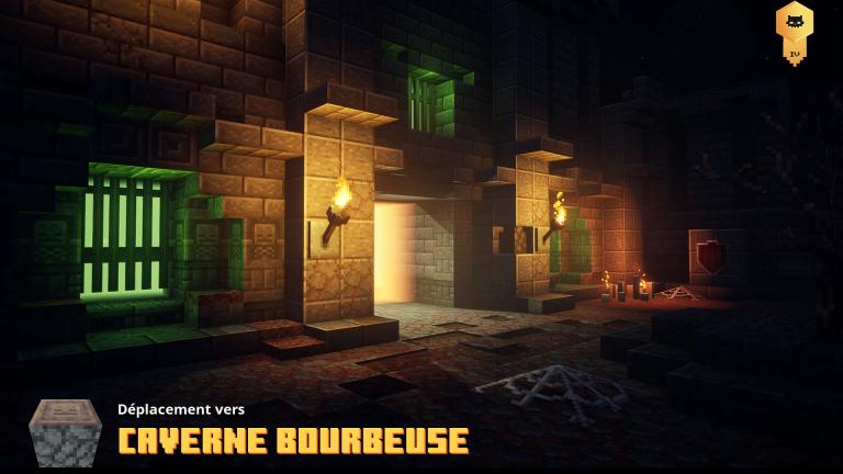Caverne bourbeuse (niveau secret)