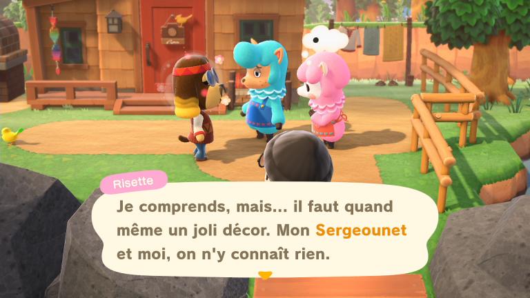 Animal Crossing New Horizons : le mariage de Serge et Risette, notre guide