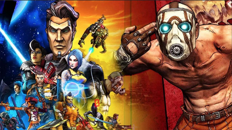 Borderlands Legendary Collection test on Switch