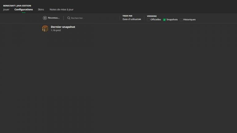 Minecraft màj 1.16 : comment accéder à la pre-release de la ''Nether Update''